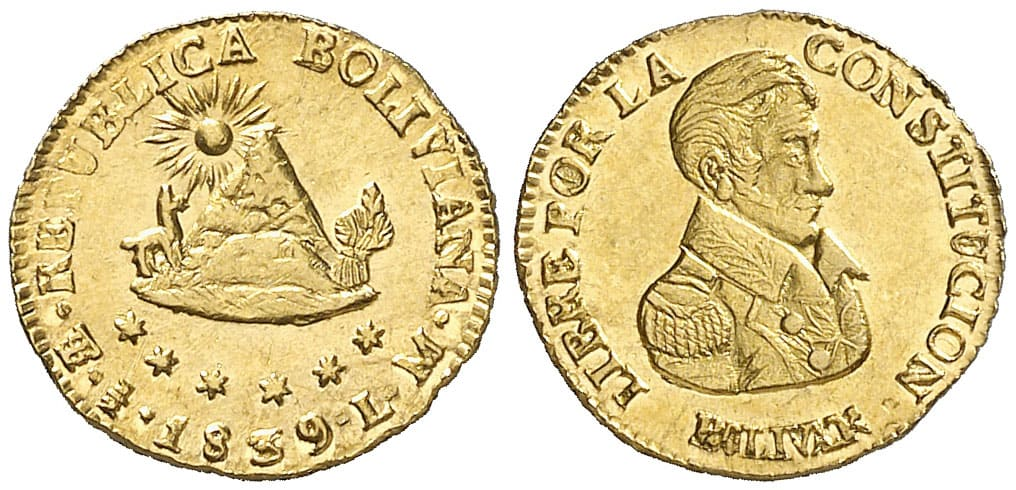 medio escudo Potosí