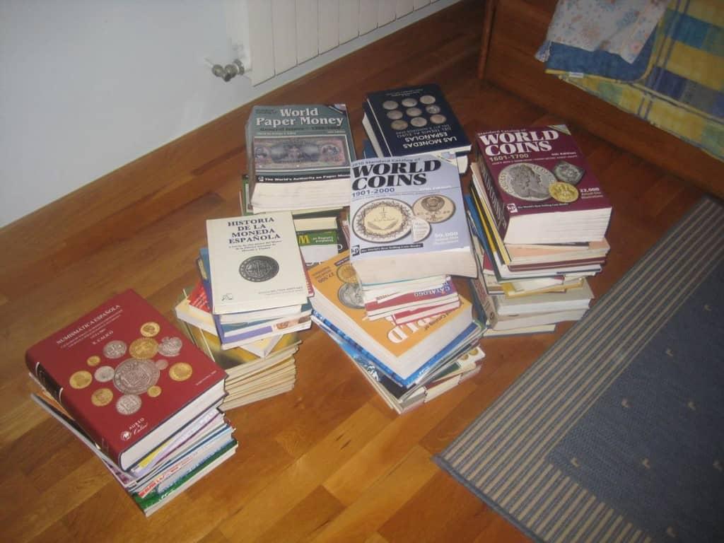 libros de monedas