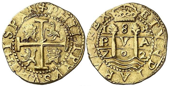 8 escudos Lima