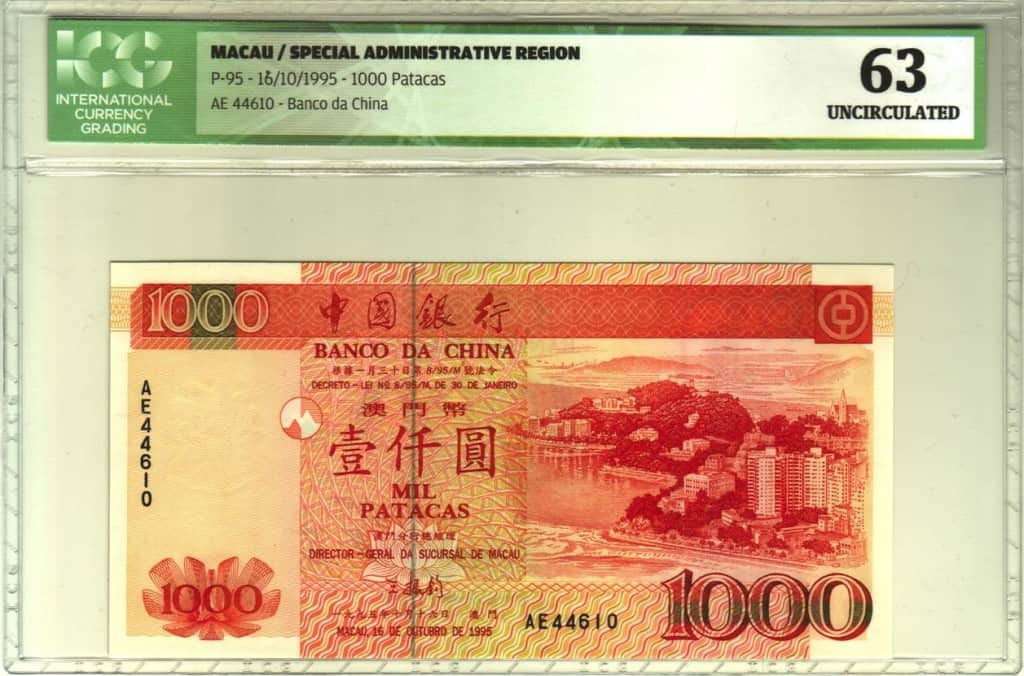 Valorando billetes