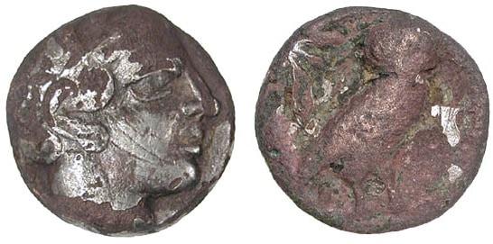 Las monedas forradas