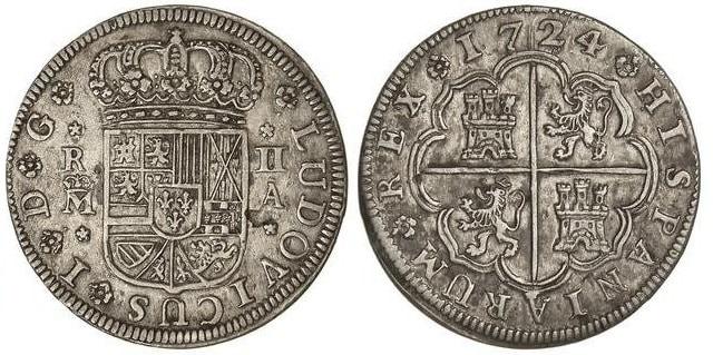 Las monedas de Luis I