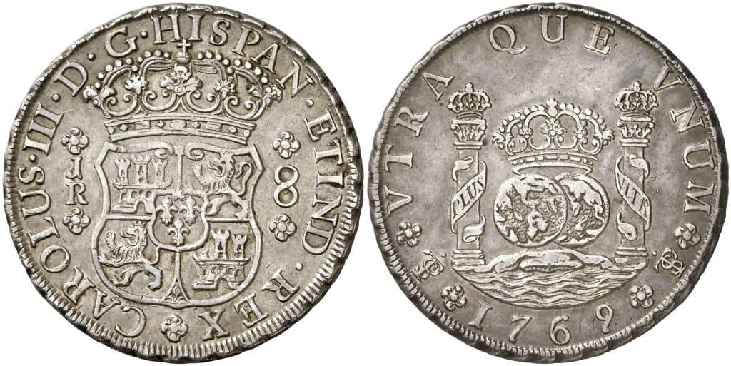 8 reales de Potosí 1769