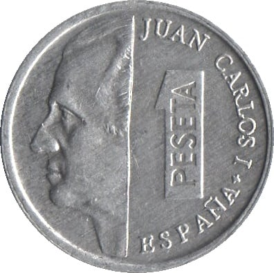 Las monedas de Juan Carlos I