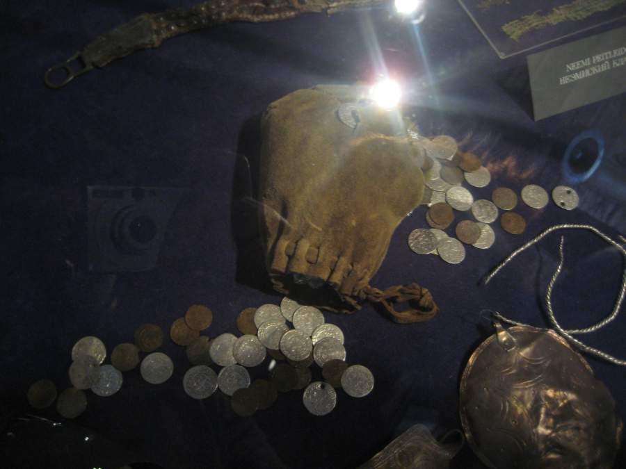 Hallazgos numismáticos en Estonia