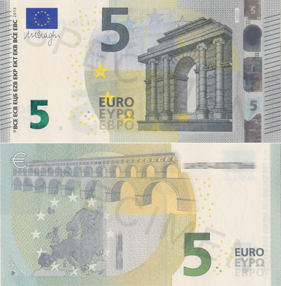 Coleccionar billetes de euro blog numismatico - Billetes muy baratos ...