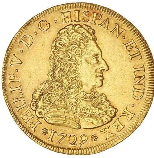 Coleccionar monedas de 8 escudos de los Borbones
