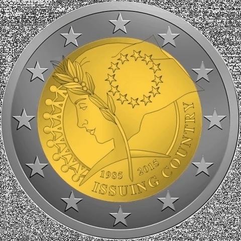 Podéis votar el diseño de la moneda conmemorativa común de 2015