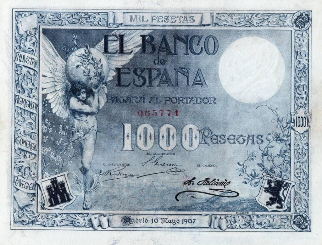 Creo que la colección que presenta es más que interesante y llamará la  atención a los coleccionistas de billetes españoles y a los que les guste  la ... ffcab96d503
