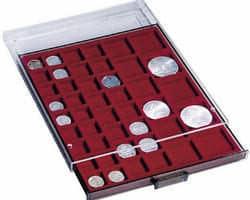 Bandejas para conservar monedas