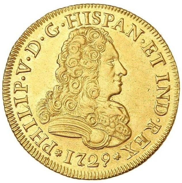Coleccionar 4 escudos y 4 reales