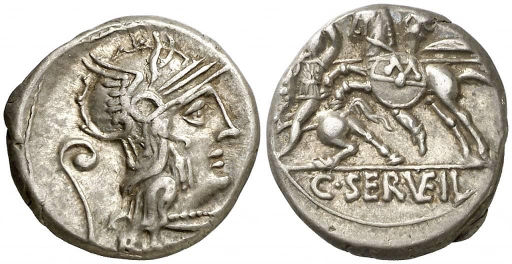 denario Servilia