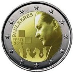 Estonia emite su primera moneda de 2 euros conmemorativa