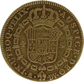 4 escudos 1787 Madrid