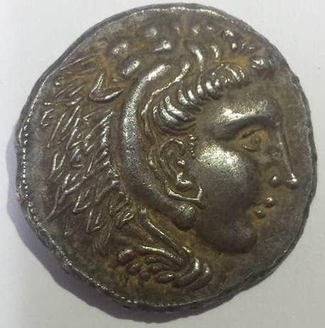 moneda griega falsa