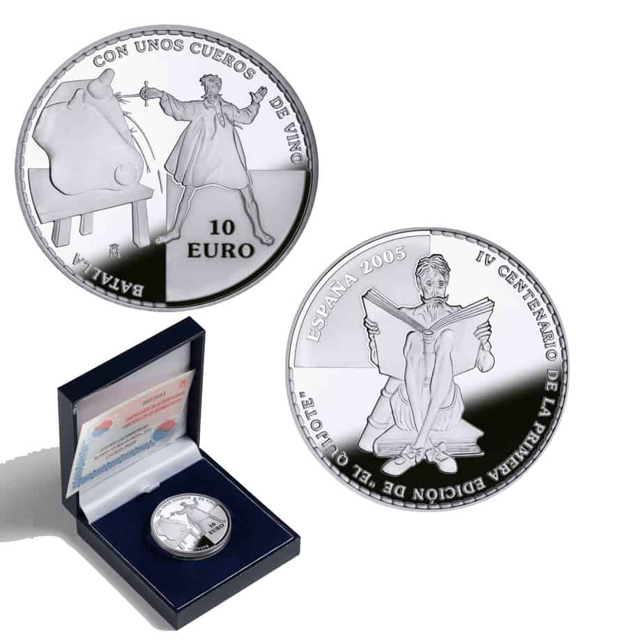 10 euros Quijote 2005
