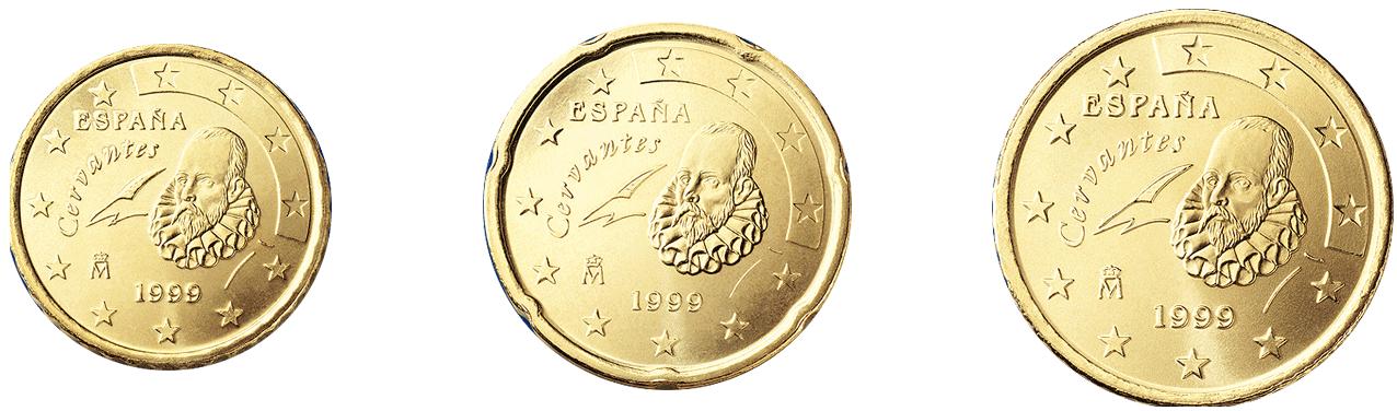 euros con Cervantes