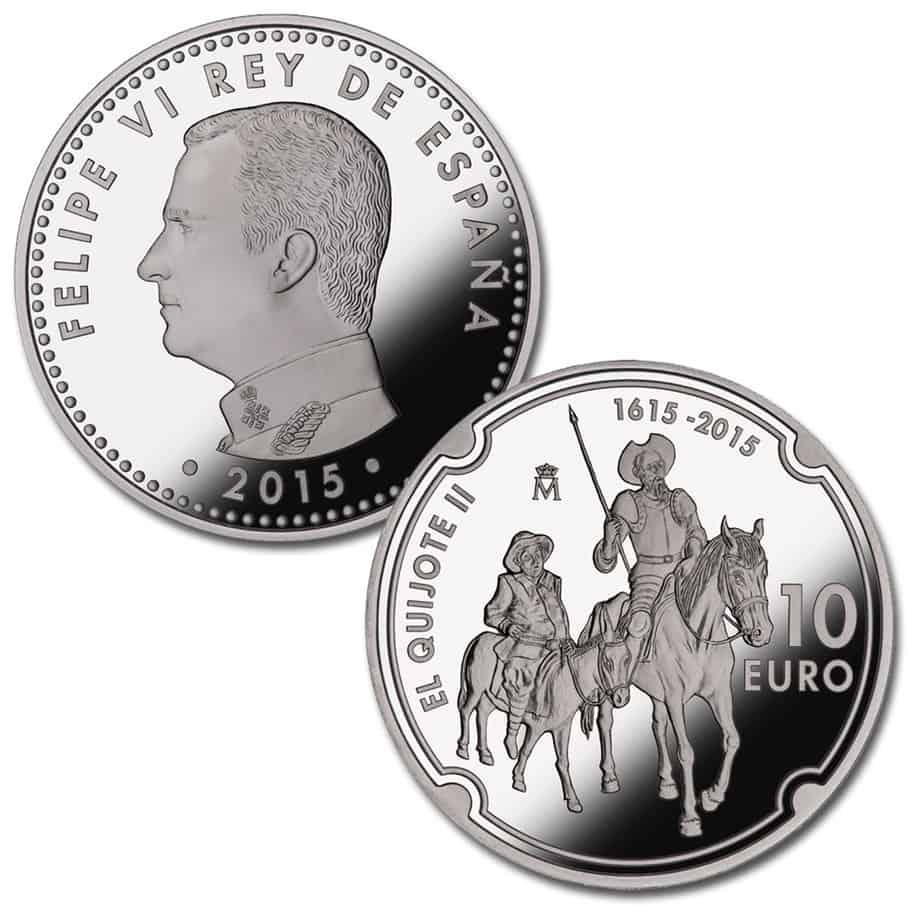 10 euros Quijote 2015