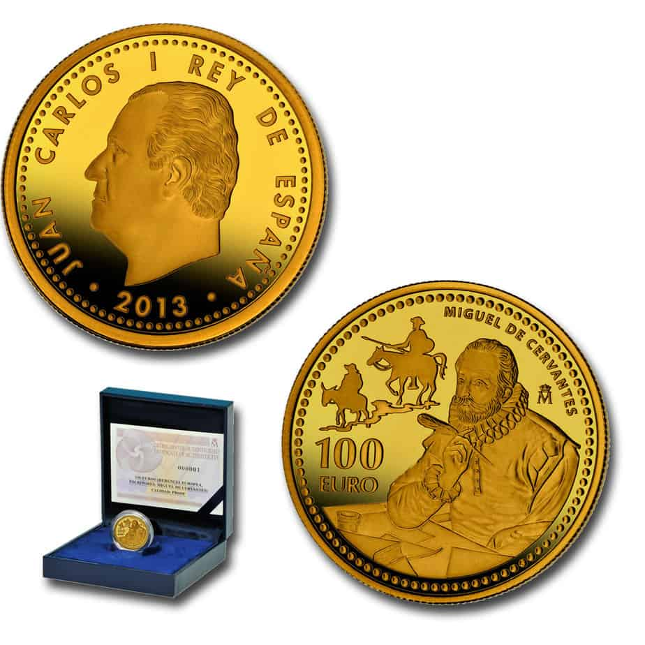 100 euros Cervantes 2013