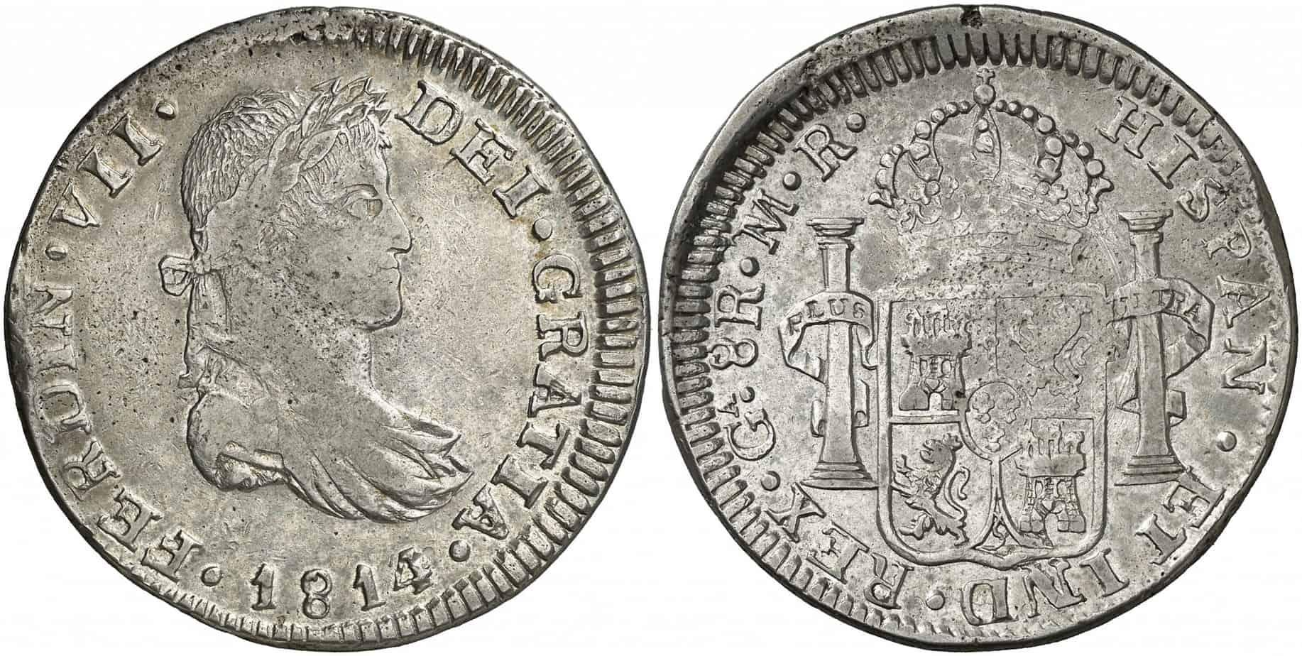 8 reales Guadelajara 1814