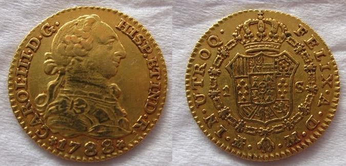 1 escudo 1788