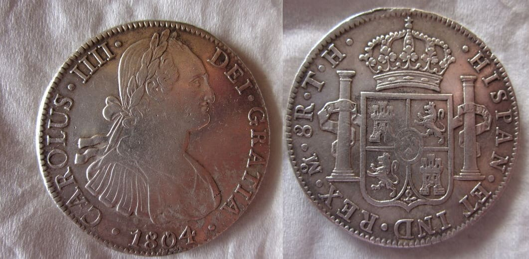 8 reales 1804