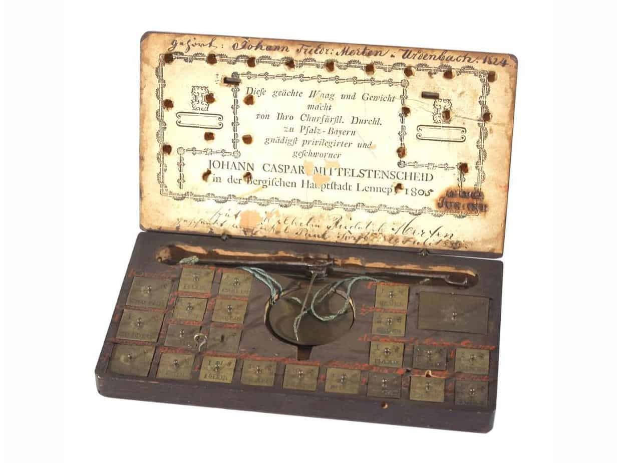 caja de ponderales