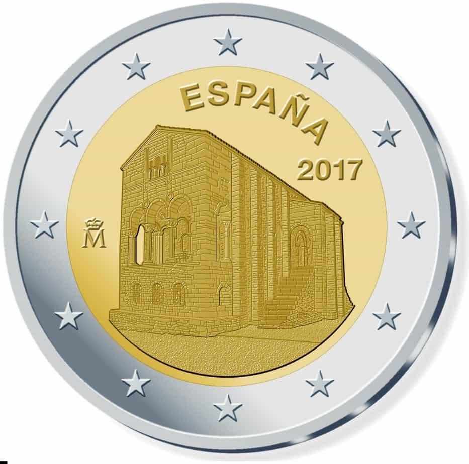2 euros conmemorativos España 2017
