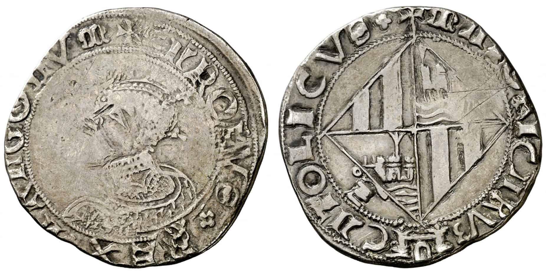 4 reales Mallorca Carlos I