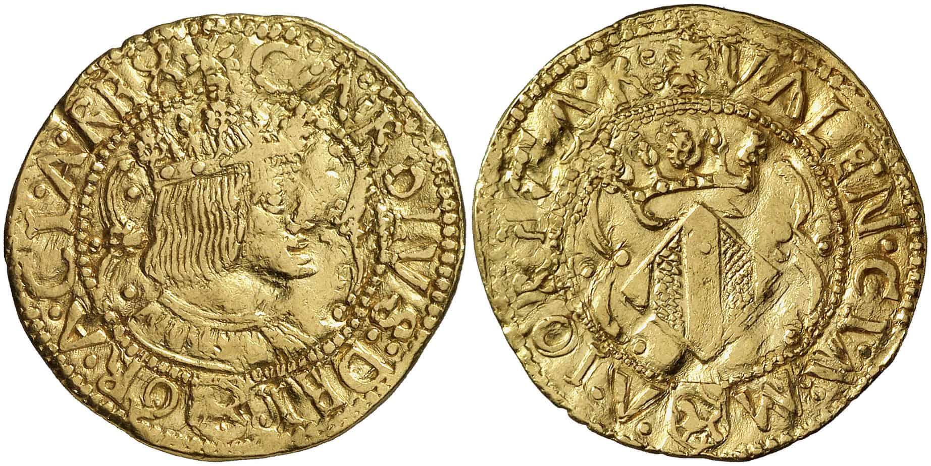 doble ducado Valencia Carlos I
