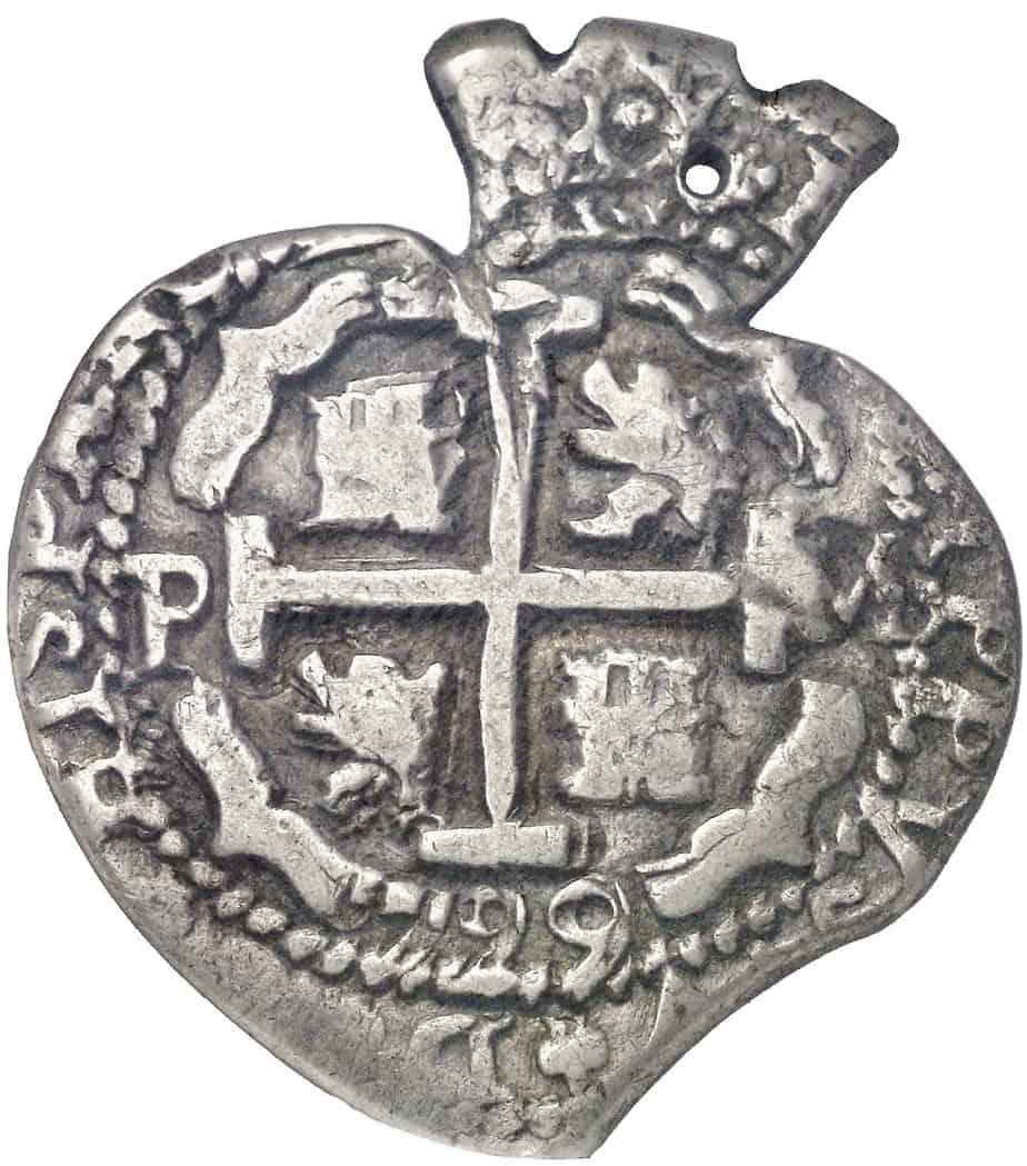 Las monedas en forma de corazón de Potosí