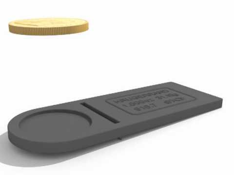 Detectar monedas falsas de oro