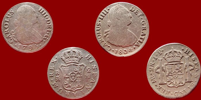 2 reales Carlos IV