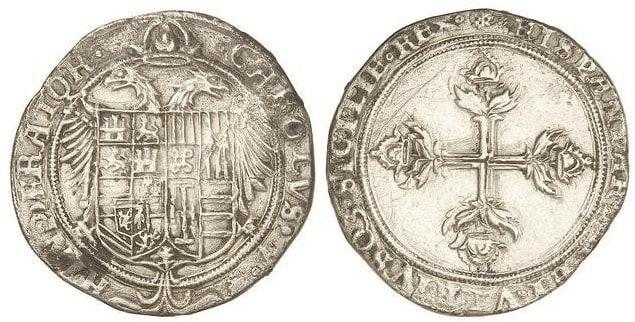 3 reales de Carlos I