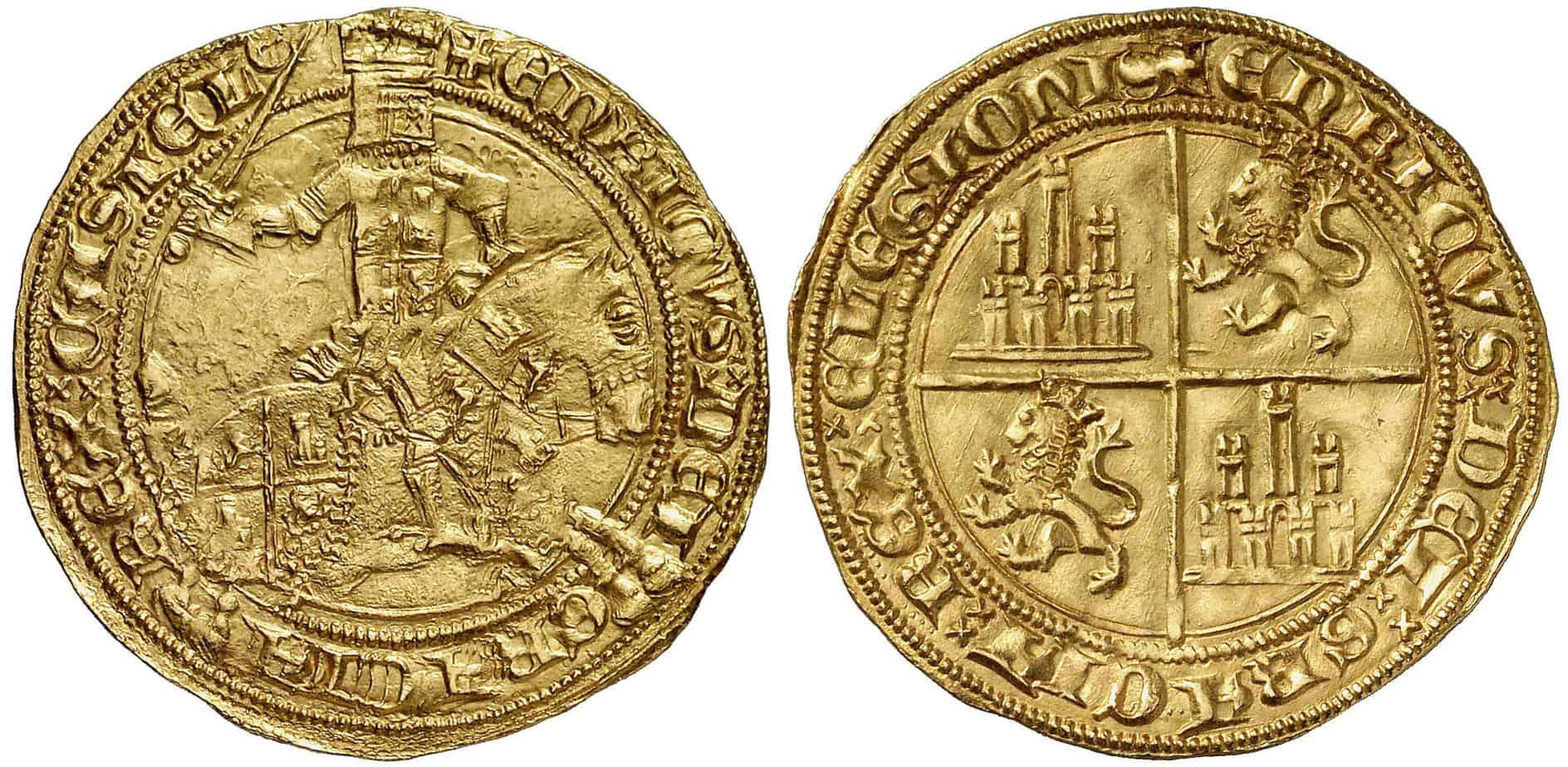 35 maravedíes Enrique II