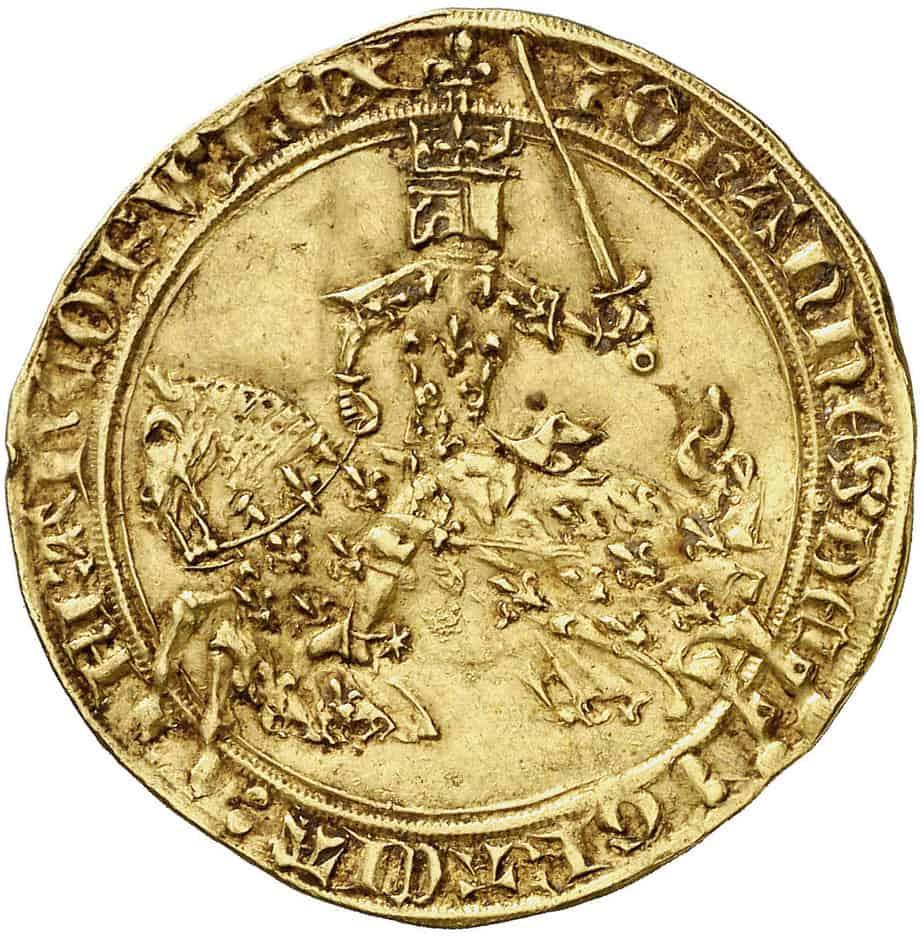 Representaciones ecuestres en la moneda de oro medieval