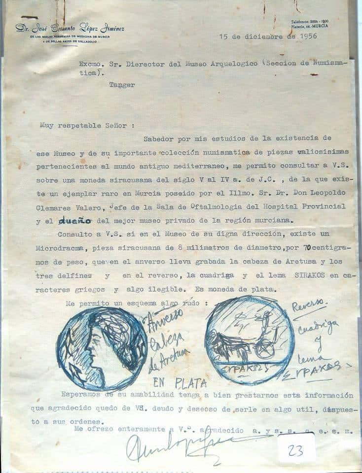 carta a César Luis de Montalbán