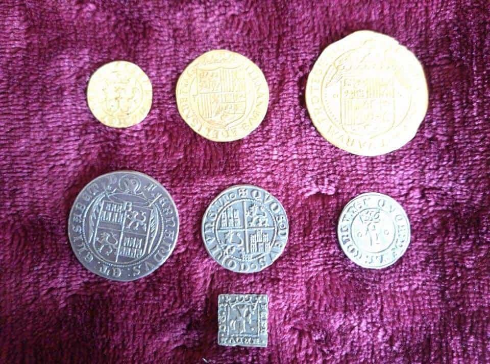 cuños moneda falsa