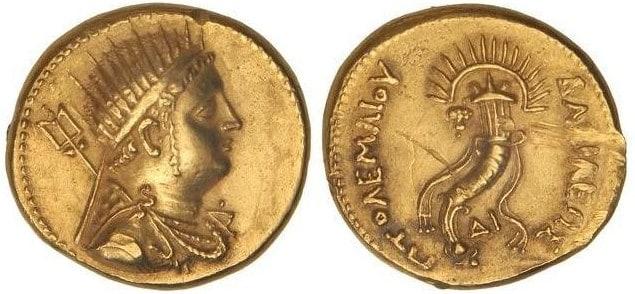 octodracma Ptolomeo IV