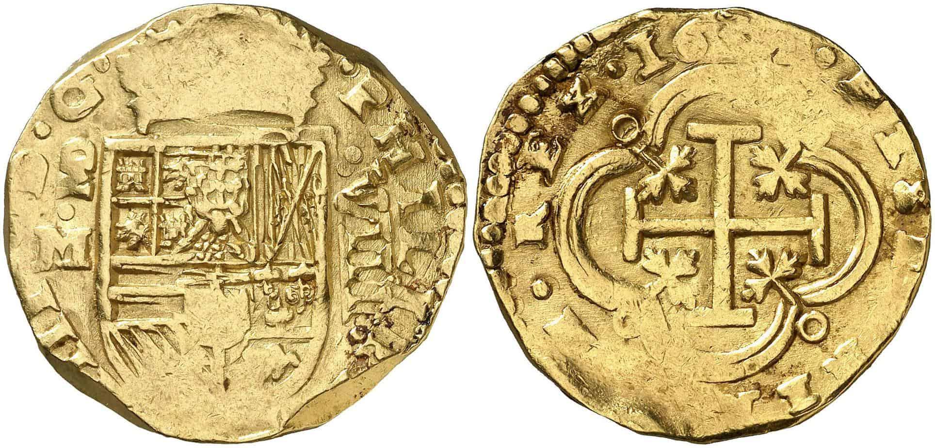 8 escudos Madrid 1631