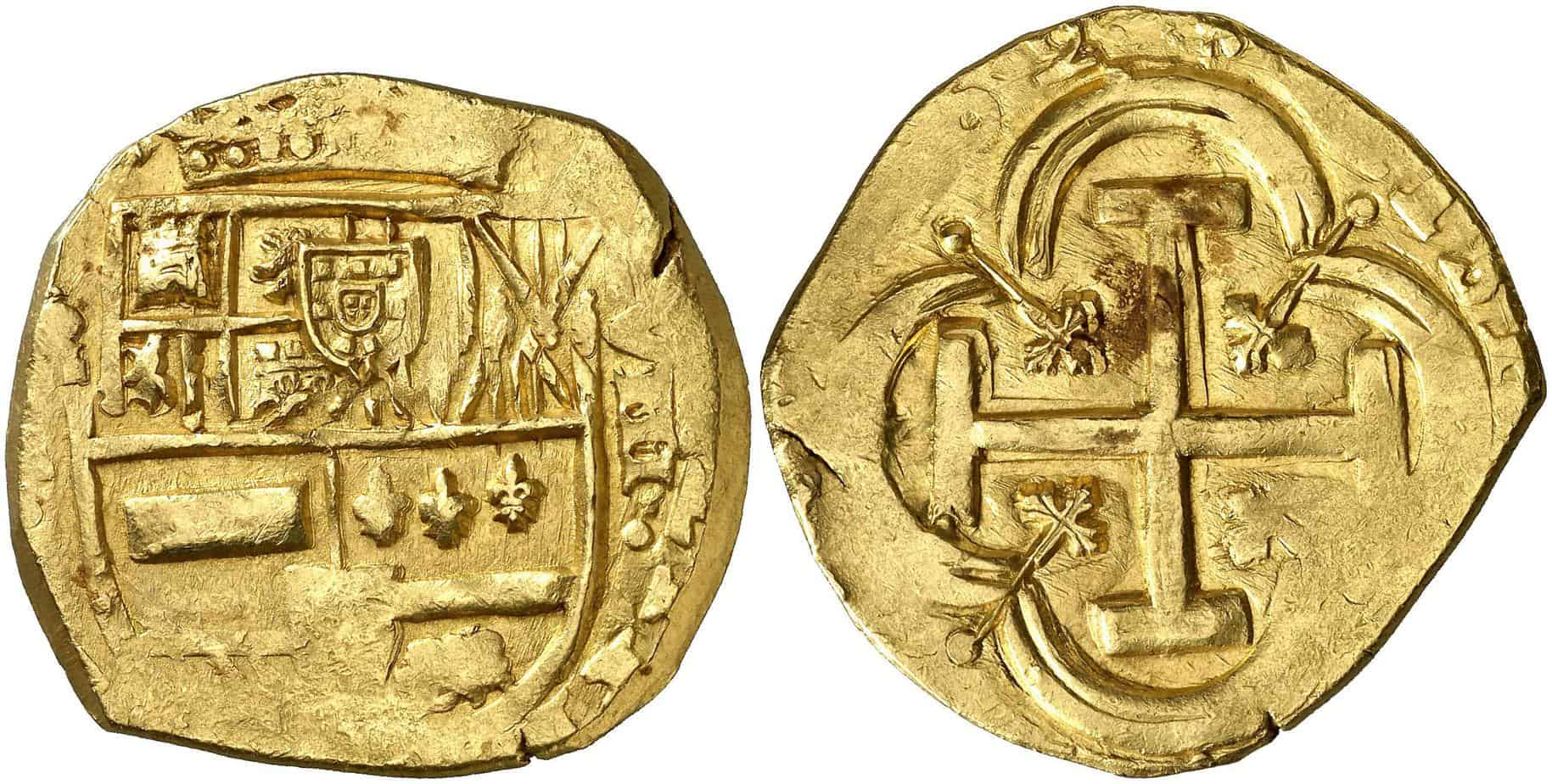 8 escudos Madrid 1662