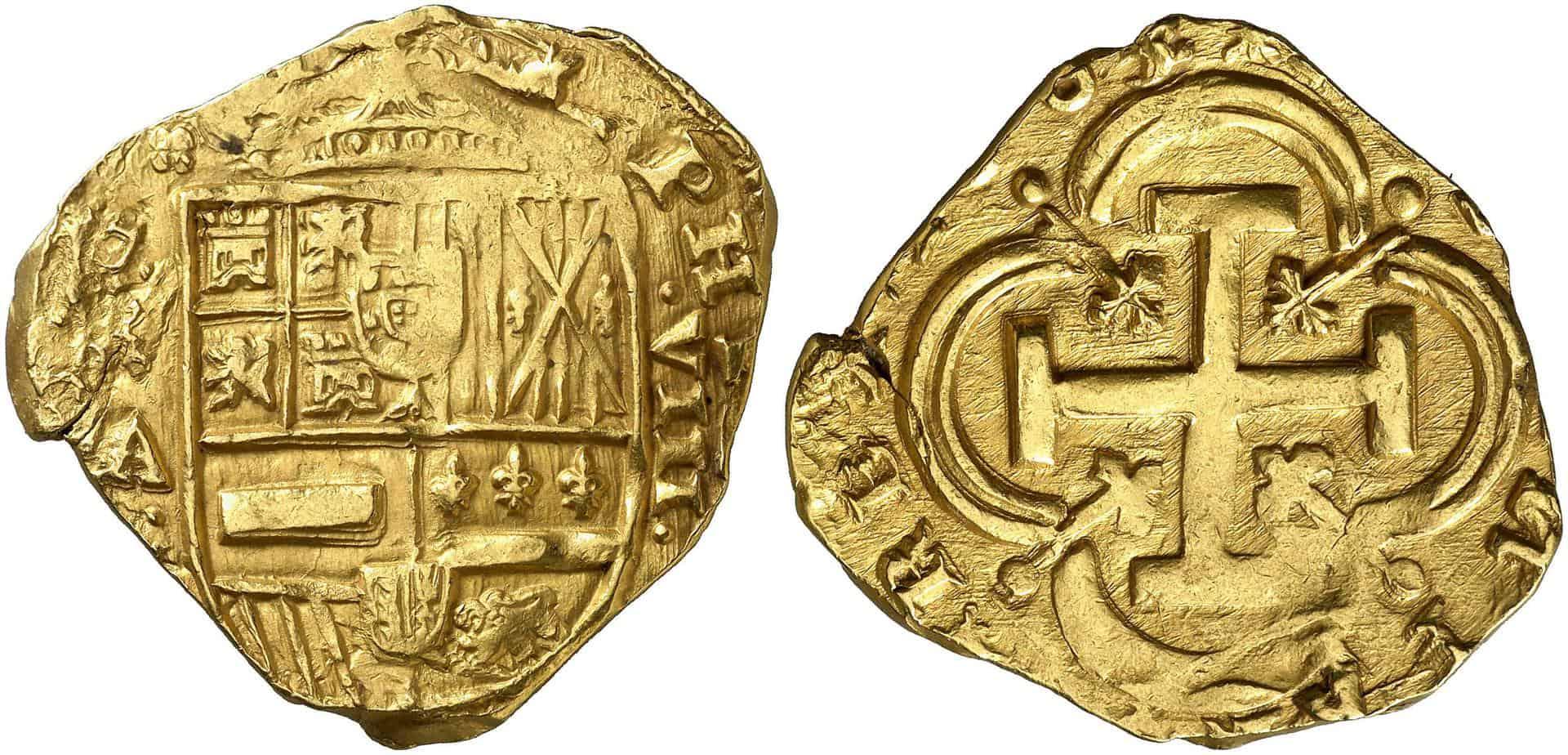 8 escudos Madrid 1663