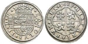 8 reales Segovia, 1683