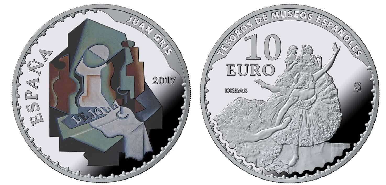 10 euros FNMT Degas