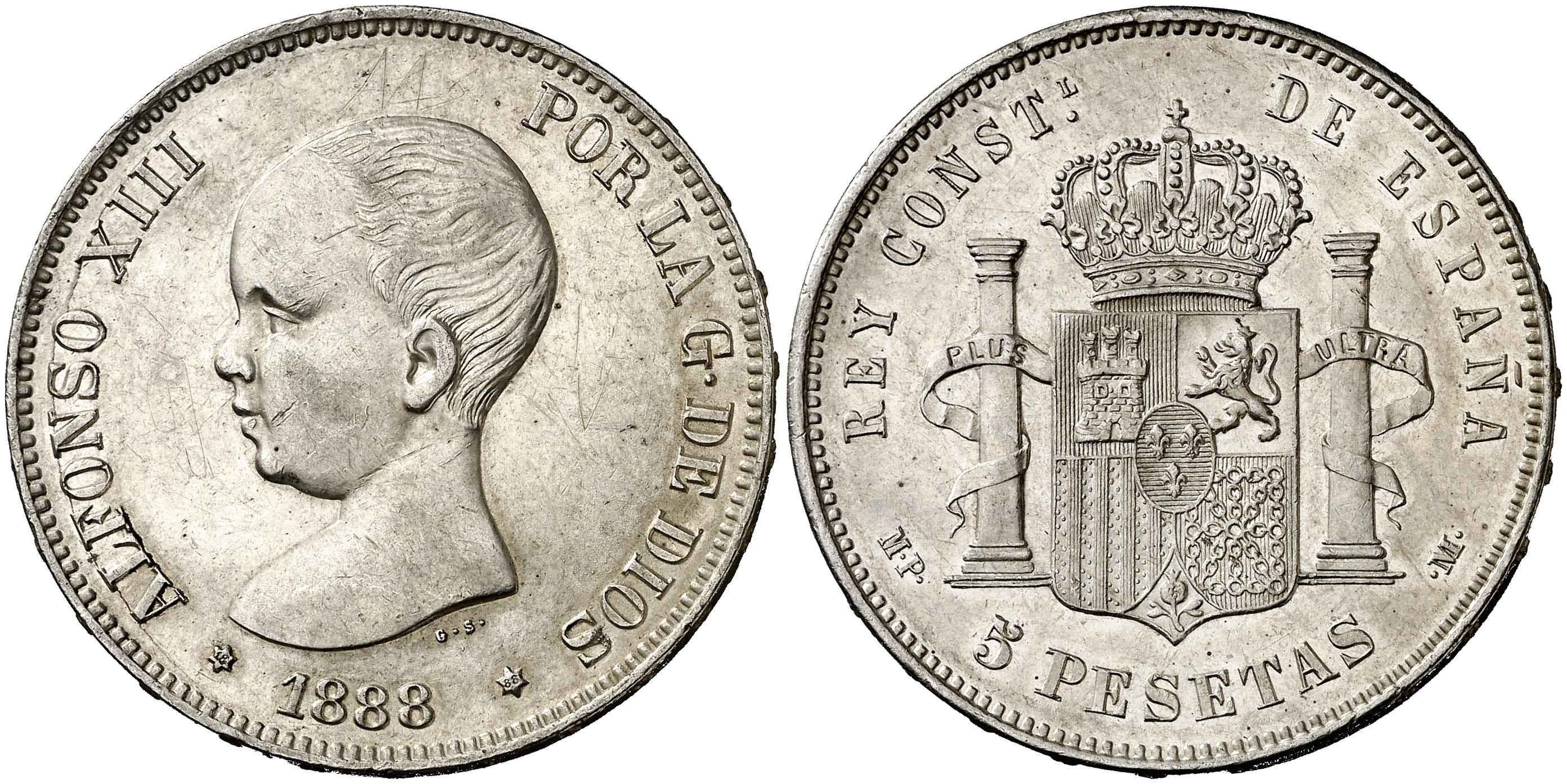 5 pesetas mbc+