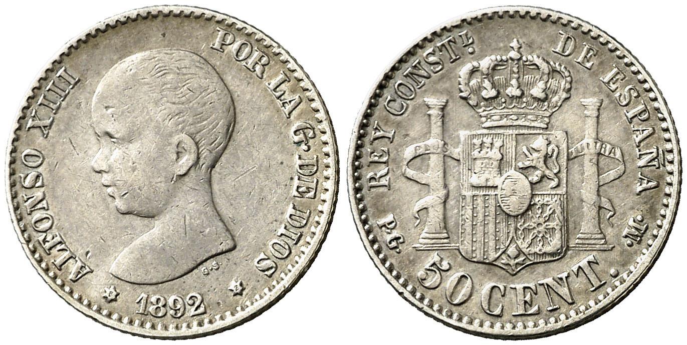 50 centimos mbc