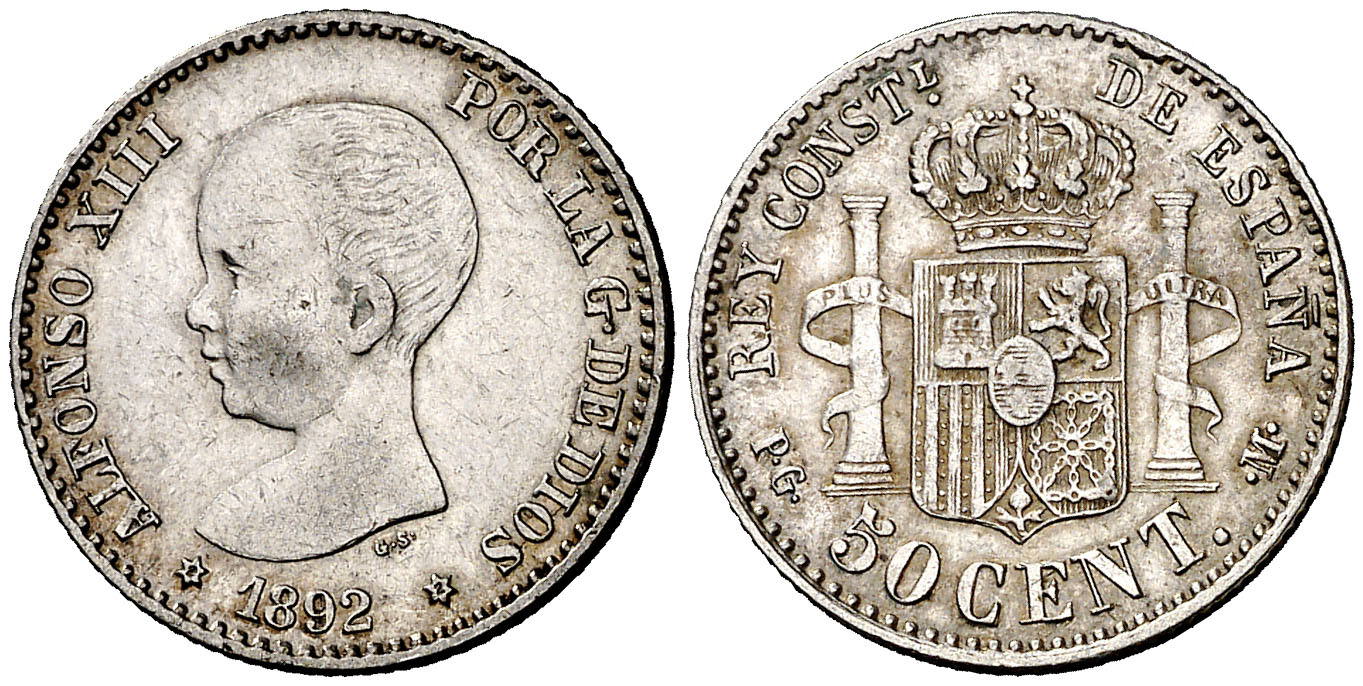 50 centimos mbc+