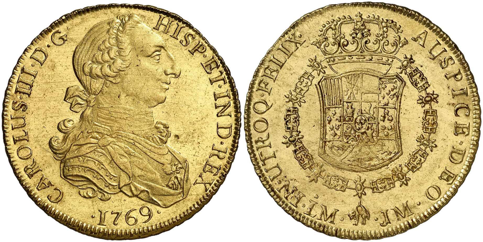 8 Escudos Lima, 1769