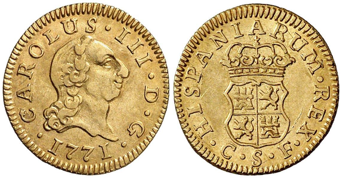 Medio Escudo Sevilla 1771