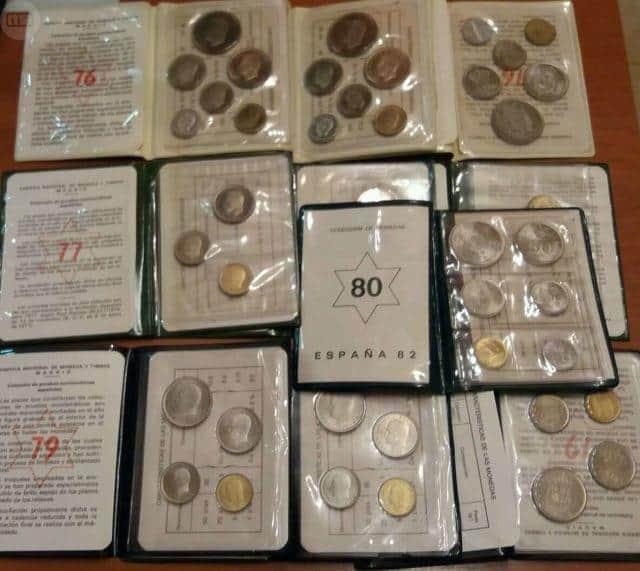 El primer lote de monedas que compré